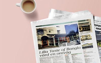 UNT omnämner Taste of Bangla
